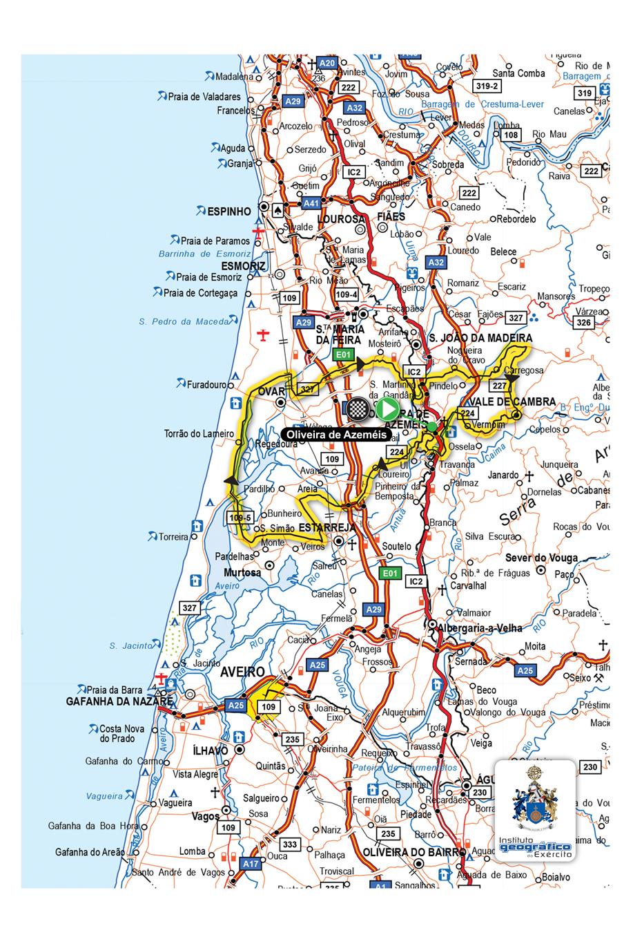 mapa da volta a portugal em bicicleta 9ª Etapa da Volta RTP . Vitalis mapa da volta a portugal em bicicleta