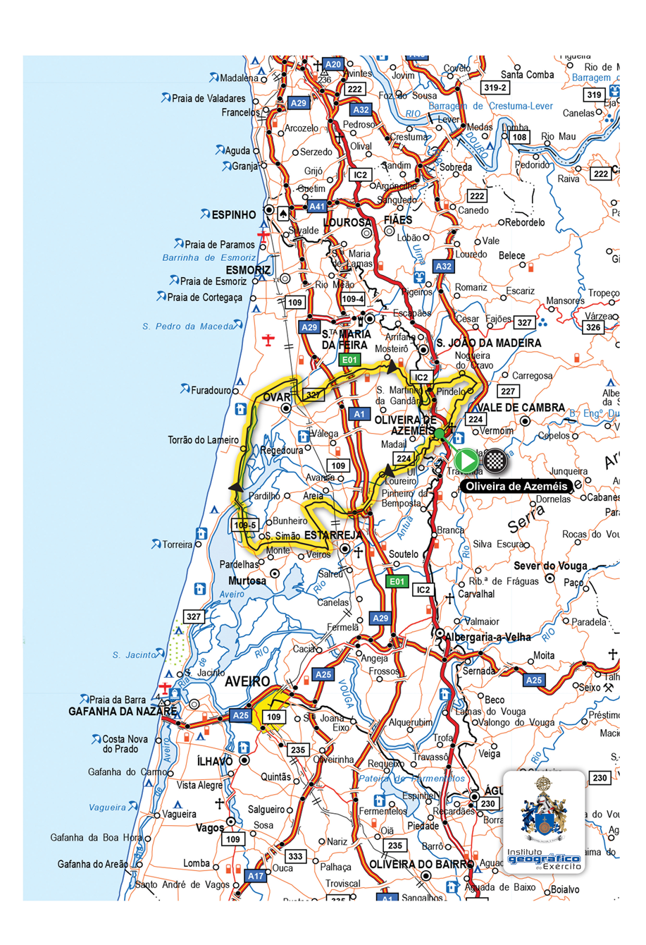mapa portugal 2015 BTTArouca: Dia 5 de Agosto podes ser o herói da Volta a Portugal  mapa portugal 2015